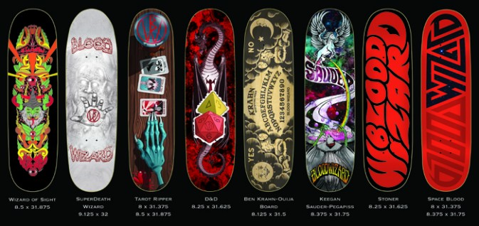 New Blood Wizard Skateboards